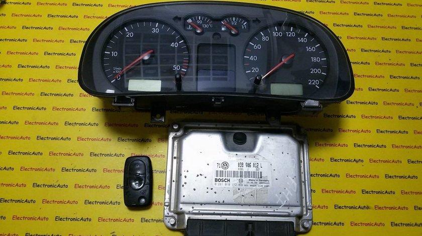 Kit pornire VW Golf4 038906012L, 0281010112