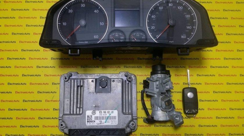 Kit pornire VW Golf5, Jetta 1.9 tdi 0281013226, 03G906021KH, motor BXE