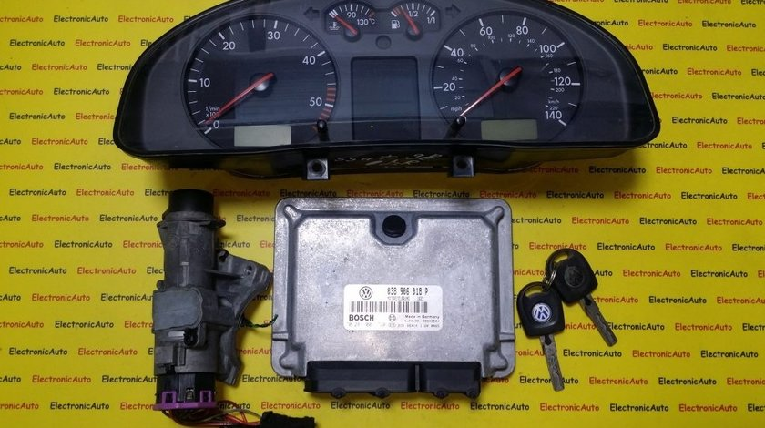 Kit pornire VW Passat 1.9TDI 0281001720, 038906018P, motor AFN