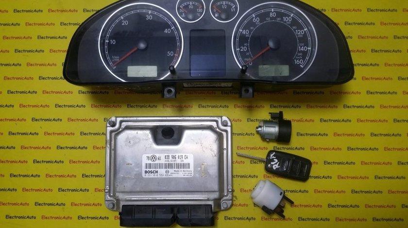 Kit pornire VW Passat 1.9TDI 0281010554, 038906019EA, motor AVB