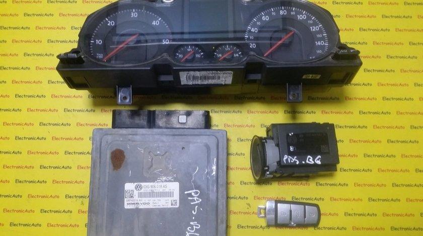 Kit pornire VW Passat 2.0TDI 03G906018AS, 5WP45514AH, PPD1.2 motor BMR