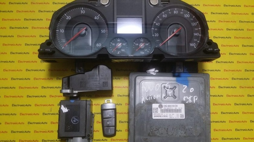 Kit pornire VW Passat 2.0TDI 03G906018CK, 5WP45602AA