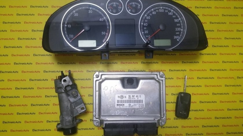 Kit pornire VW Passat 2.5 tdi 0281010447, 3B1907401B, motor AKN 150CP
