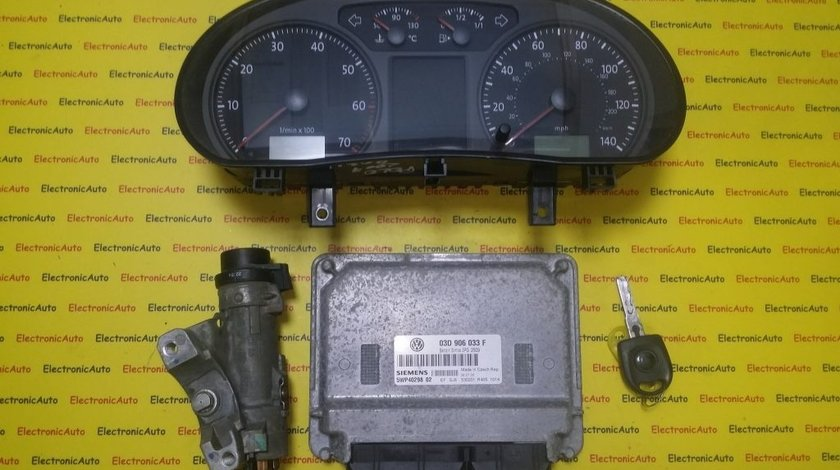 Kit pornire VW Polo 1.2 03D906033F, 5WP40298, motor BMD