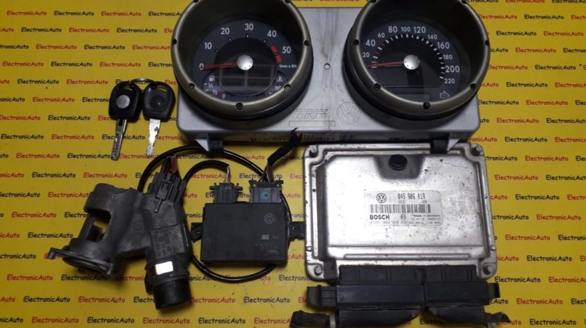 Kit pornire VW Polo 1.4 045906019, 0281001940