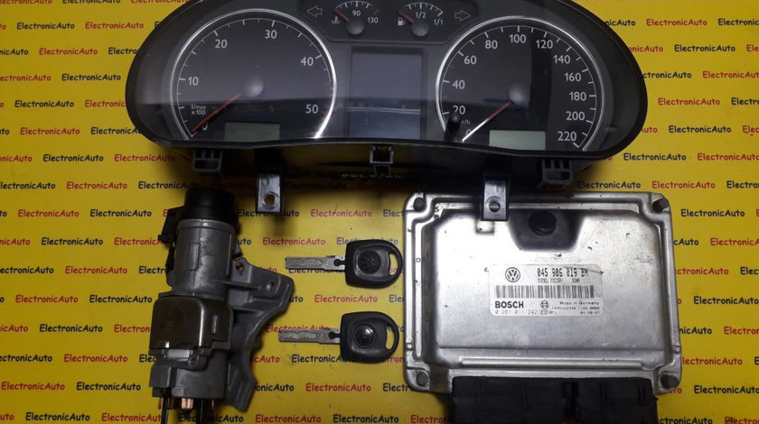 Kit pornire VW Polo 1.4TDI 045906019BH, 0281011242