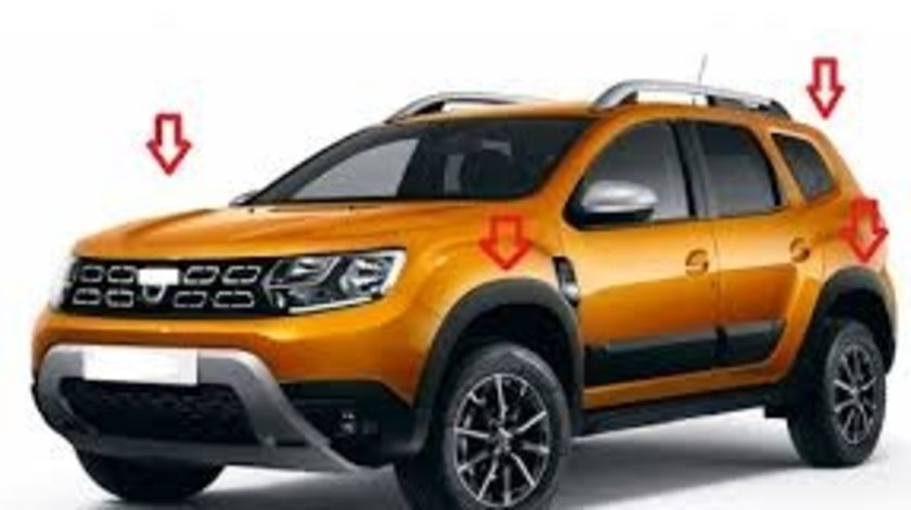 Kit protectii de aripi fata dreapta Duster II 2018-2019 AutoCars