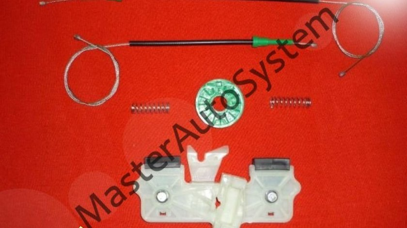 Kit reparatie macara geam actionat electric Ford Fiesta pt an fab '02- '08 stanga sau dreapta fata