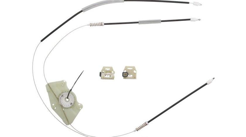 Kit reparatie macara geam fata stanga set, electric SKODA FABIA I, FABIA I PRAKTIK intre 1999-2008 cod intern: CI7476CA