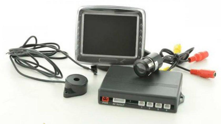 Kit senzori de parcare cu camera si monitor 3 5 TFT