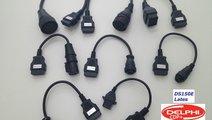 Kit set 8 cabluri adaptoare OBD2 Autocom / Delphi ...