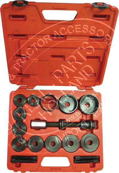 Kit universal pentru extras butuc roata fata si rulment , 17 buc. Kft Auto