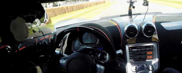 Koenigsegg One:1 ia cu asalt coasta de la Goodwood - VIDEO ONBOARD