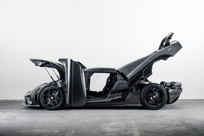 Koenigsegg Regera fara vopsea - Koenigsegg Regera fara vopsea
