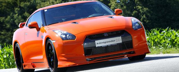 Konigseder modifica noul Nissan GT-R - Vitamina C pentru Godzilla!