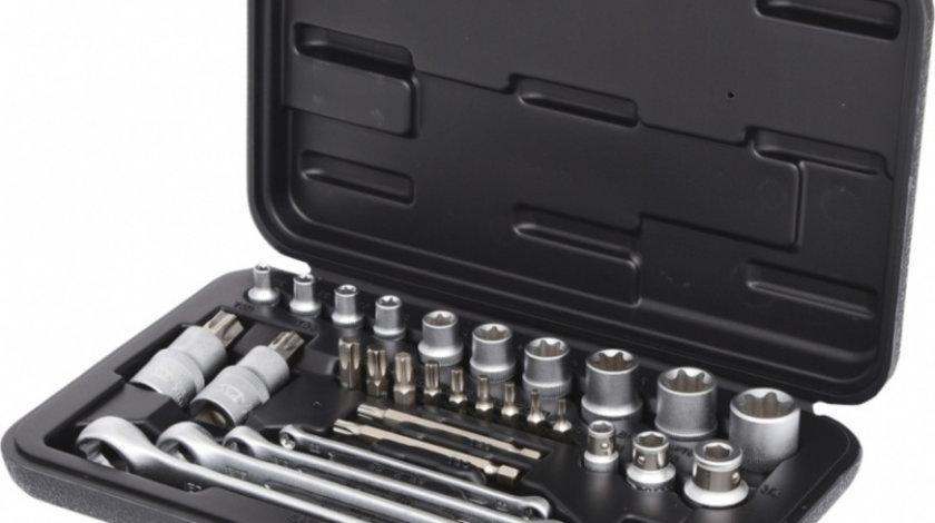 "Ks Tools Set Chei Tubulare Torx 1/4"", 3/8"", 1/2"" 31 Piese 911.4302"