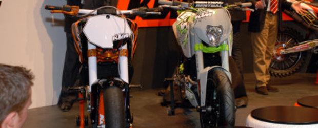KTM 125 Project Race si Project Stunt, la EICMA 2009 Milano