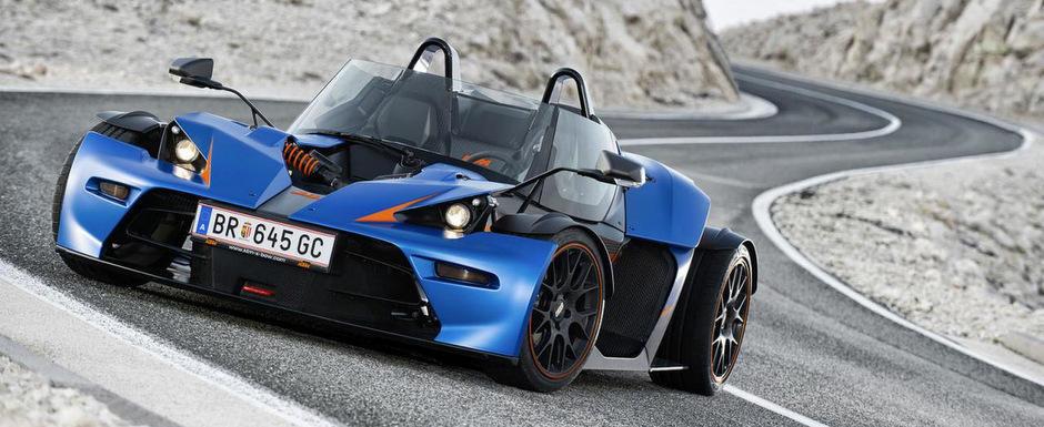 KTM X-Bow vine la Geneva intr-o versiune cu usi si parbriz, pe nume X-Bow GT