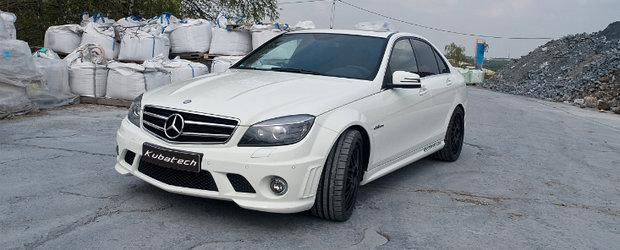 Kubatech modifica vechiul Mercedes C63 AMG