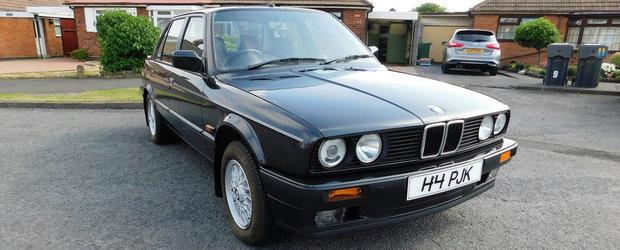 L-a cumparat de nou si a facut cu el doar 3.600 de kilometri. Cu cat se da acum acest BMW E30