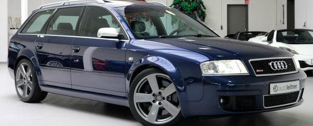 L-a cumparat in 2002, insa nu l-a condus decat o singura data. Suma cu care se vinde acum acest RS6 Avant