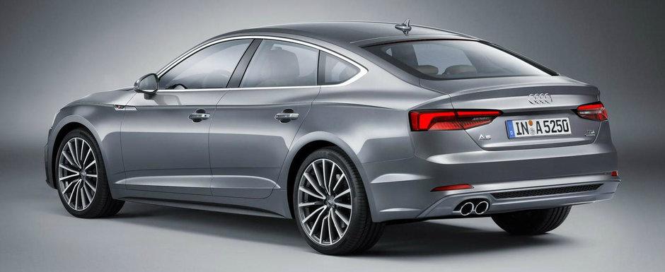 L-ai vazut deja cum arata in versiunea Coupe. Acum a venit randul variantei Sportback sa se afirme.