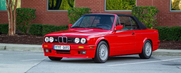 L-am lua de 9 din 10 ori inaintea noului model. BMW-ul din 1991 are motor aspirat, cutie manuala si grila normala