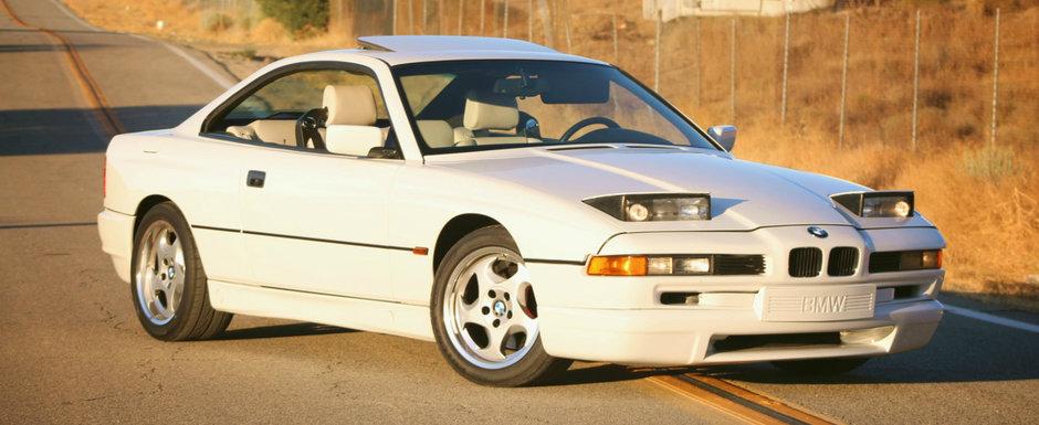 L-am lua de 9 din 10 ori inaintea noului model. BMW-ul din '95 are motor V12, cutie manuala si piele alba