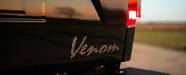 L-au botezat Venom 775 Supercharged Truck si este un Ford F-150 cu 775 de cai putere sub capota. Cum arata