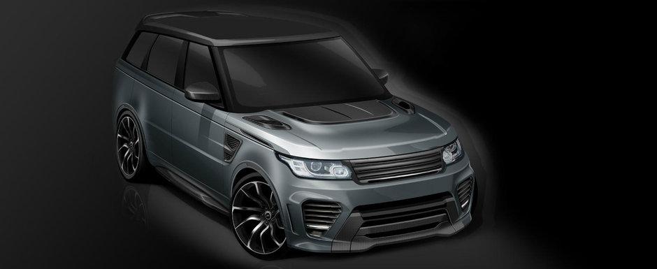 L-au facut sa arate ca o masina de curse. Tuningul dupa care toti posesorii noului Range Rover SVR se vor topi