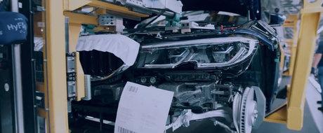 L-au filmat chiar in fabrica, pe linia de productie. ACESTA E NOUL BMW SERIA 3!