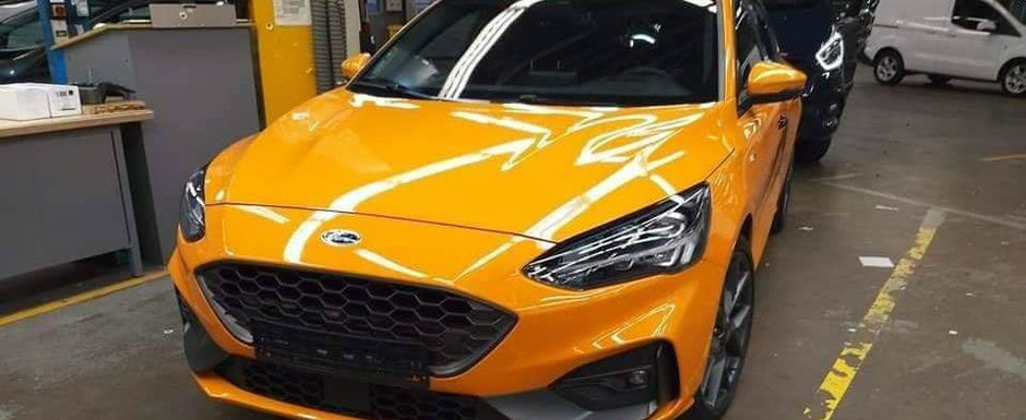 L-au fotografiat chiar la Ford in fabrica. ACESTA este noul Focus ST!