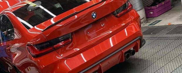 L-au pozat in fabrica, chiar pe linia de productie. Acesta este noul BMW M3!