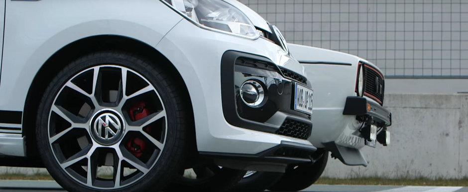 L-au pus alaturi de primul GTI din istorie. Asa ne anunta Volkswagen ca s-a nascut un nou Up! GTI