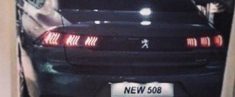 L-au surprins complet necamuflat, cu o luna inaintea lansarii oficiale. Acesta este noul Peugeot 508!