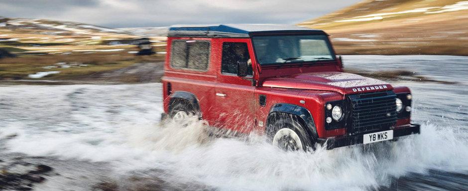 L-au tunat din fabrica. Land Rover lanseaza o editie limitata cu 405 cai putere pentru Defender