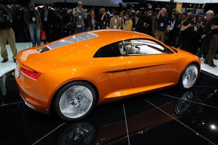 LA 2009: Audi e-Tron - Mai electrizant ca niciodata