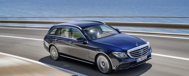 La 50 de ani de la lansarea primului kombi, Mercedes-Benz lanseaza E-Class Estate si AMG E43 4Matic