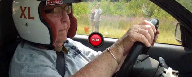 La 91 de ani, gusta pentru prima oara din tainele raliului