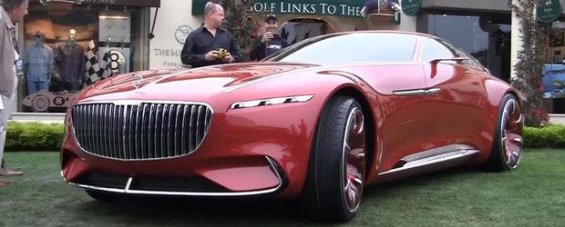 La asta nu te-ai fi asteptat. Vision Mercedes-Maybach 6 este de fapt cea mai lunga si mai scumpa...masina cu telecomanda din lume!