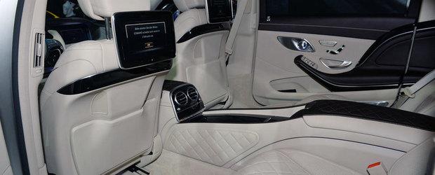 LA Auto Show 2014: Mercedes si Maybach colaboreaza pentru S-ul suprem