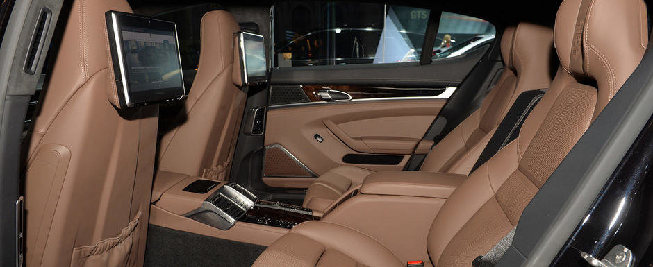 LA Auto Show 2014: Porsche Panamera ES garanteaza luxul si exclusivitatea
