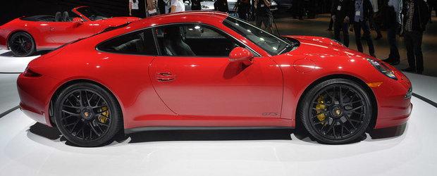 LA Auto Show 2014: Porsche prezinta noile 911 Carrera si Cayenne GTS