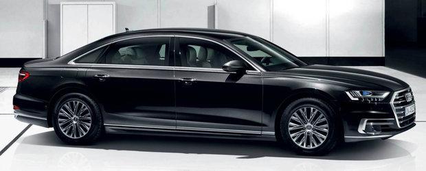 La bordul lui calatoresti in lux deplin si siguranta. De ce costa acest Audi A8 aproape 700.000 de euro