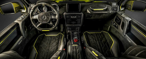 La exterior Brabus, la interior Carlex. O combinatie perfecta pentru Mercedes-ul G500 4x4²
