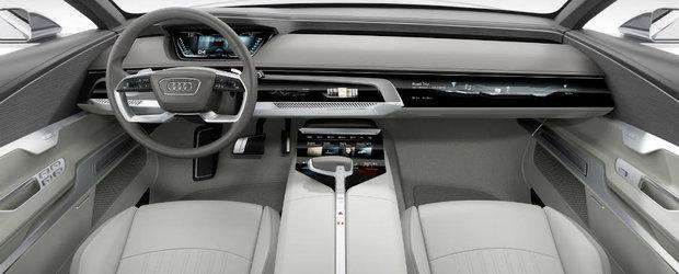 La exterior evolutie, la interior revolutie. Asa ar putea arata interiorul viitorului Audi A8