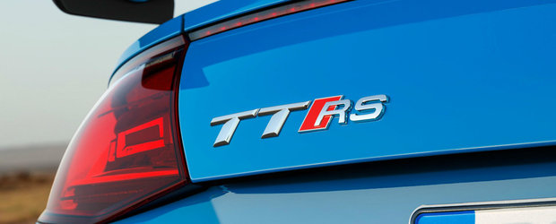 La fel de rapid ca un supercar, dar la jumatate de pret. Acesta este noul AUDI TT RS facelift