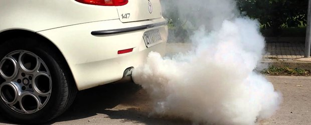 La Iasi, masinile care scot fum sunt inregistrate de Politia Locala si 'turnate' la RAR