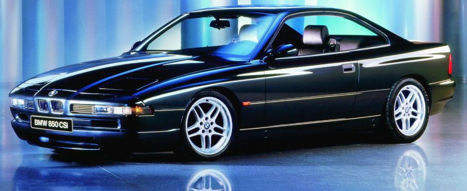 La Multi Ani bavarezi! BMW sarbatoreste 25 de ani de Seria 8