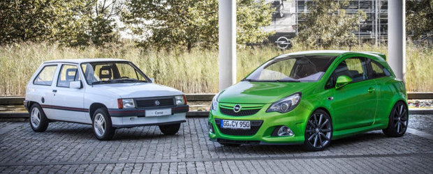 La multi ani! Opel Corsa are 30 de ani